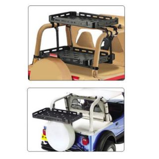 1997 2006 Jeep Wrangler (TJ) Cargo Rack Mounting Kit   Bestop, Direct fit