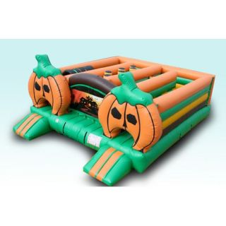 EZ Inflatables Halloween Maze Bounce House   Commercial Inflatables