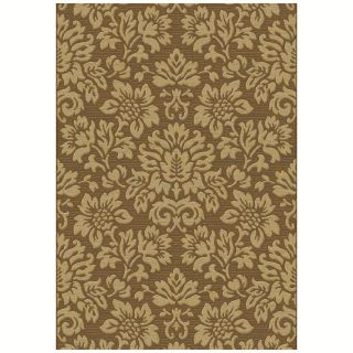Dynamic Rugs Eclipse Floral 67013 Area Rug   Brown   Area Rugs
