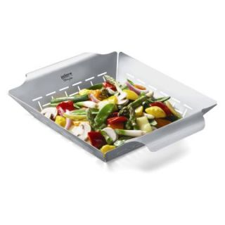 Weber Stainless Steel Vegetable Basket   Grill Accessories
