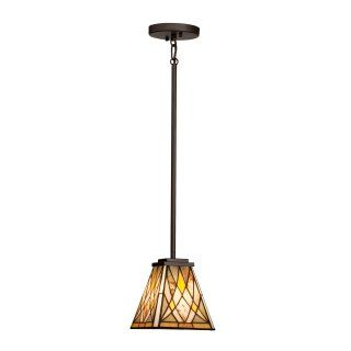 Kichler 65336 Casita Tiffany 1 Light Mini Pendant   7W in. Brushed Nickel   Tiffany Ceiling Lighting