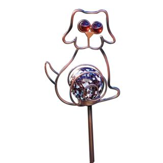 Moonrays Solar Powered Color Changing LED Dog Stake Light   Solar Lights