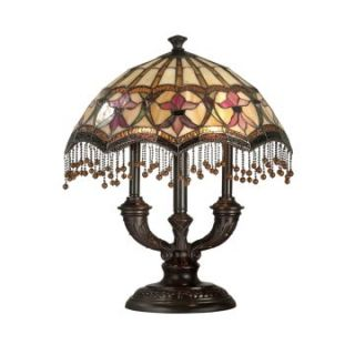 Dale Tiffany De Fleur Table Lamp   Tiffany Table Lamps
