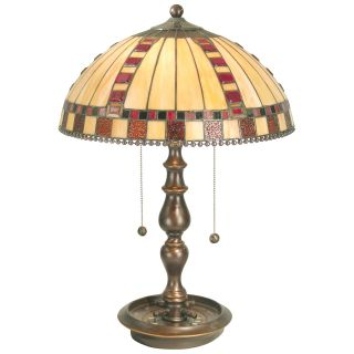 Dale Tiffany Roulette Table Lamp   Tiffany Table Lamps