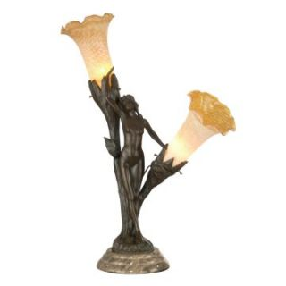 Dale Tiffany Floral Lady Accent Lamp   Tiffany Table Lamps
