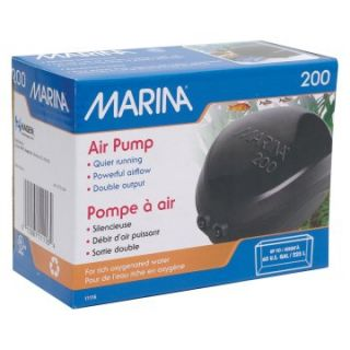 Marina 200 Air Pump   Aquarium Supplies