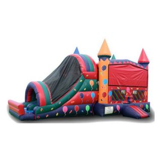 EZ Inflatables Balloon Module Combo Bounce House   Commercial Inflatables