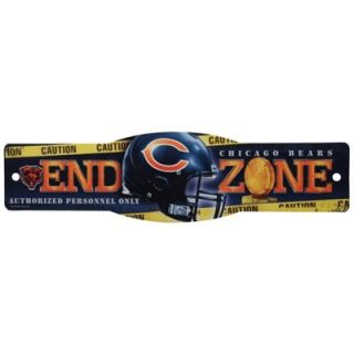 Chicago Bears 4.5 x 17 Street Zone Sign