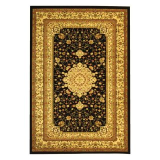 Safavieh Lyndhurst LNH213A Area Rug   Black/Cream   Area Rugs