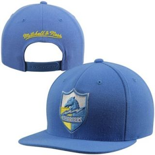 Mitchell & Ness San Diego Chargers Throwback XL Logo 2T Snapback Hat   Powder Blue