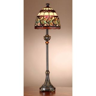 Dale Tiffany Aldridge Buffet Lamp   Tiffany Table Lamps