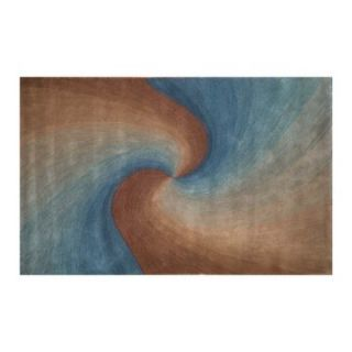 Ombre Surf Blue Rug   Modern Area Rugs