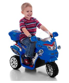 Lil Rider FX 3 Wheel Battery Powered Bike   Blue   Battery Powered Riding Toys