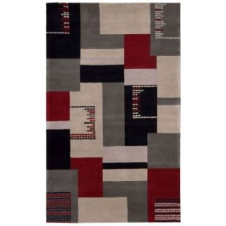 Nourison Dimensions ND11 Area Rug   Gray   Area Rugs