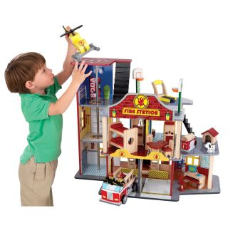 KidKraft Deluxe Fire Rescue Set   Toys and Playsets