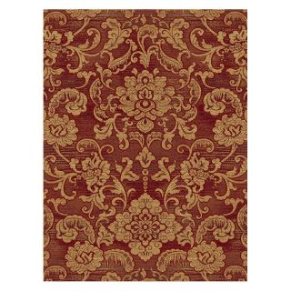 Central Oriental Shadows Londonderry Area Rug   Red   Area Rugs