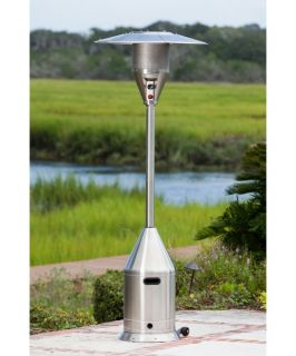Fire Sense Stainless Steel Select Series Patio Heater   Patio Heaters