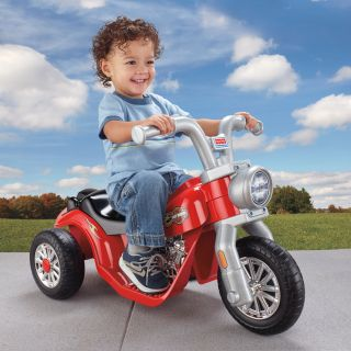 Fisher Price Power Wheels Lil Harley Battery Powered Riding Toy   Battery Powered Riding Toys