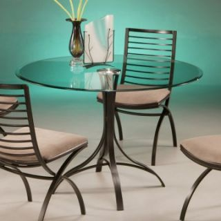 Pastel Kayak Point Glass Top Dining Table   Dining Tables
