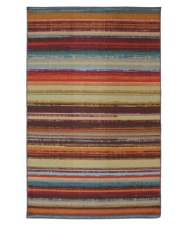 Mohawk Home Avenue Stripe Indoor/Outdoor Rug   Area Rugs