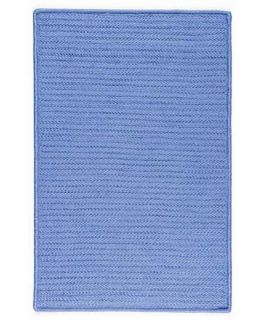 Colonial Mills Janelle Lampp Simply Home Indoor/Outdoor Braided Area Rug   Blue Ice   Braided Rugs