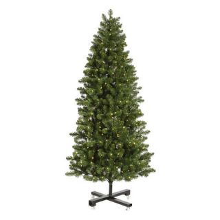 Slim Grand Teton Pre Lit LED Christmas Tree   Christmas Trees