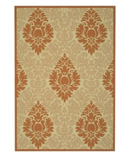 Safavieh Courtyard 2714 Indoor/Outdoor Area Rug   Terra Cotta   Area Rugs