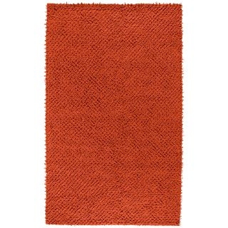 Surya Todd TOD 1004 Square Felted Shag Area Rug   Carrot   Area Rugs