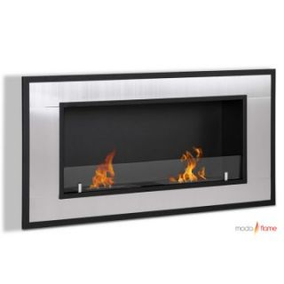Moda Flame Lugo Wall Mount Fireplace   Gel Fireplaces