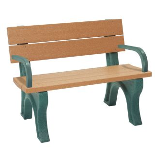 Traditional Commercial Grade Park Bench   Outdoor Benches