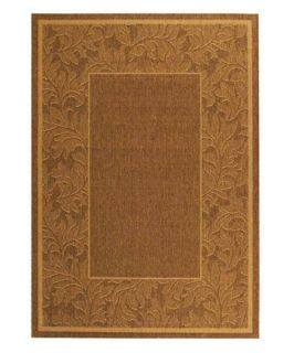 Safavieh Courtyard CY2666 Area Rug Brown/Natural   Area Rugs
