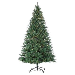 8 ft. Pre Lit Hudson Pine Christmas Tree   Christmas Trees