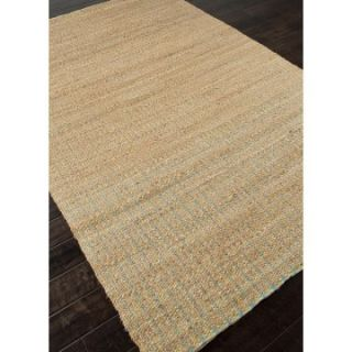 Jaipur Andes Devon Natural Solid Pattern Jute/Cotton Rug   Area Rugs