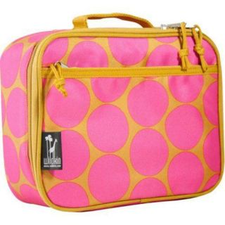 Wildkin Lunch Box Big Dots Hot Pink Wildkin Lunch Totes