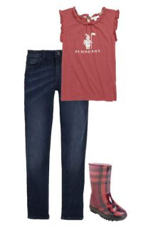 Burberry Tank Top & Skinny Jeans (Little Girls & Big Girls)