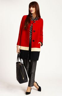 kate spade new york coat, blouse & pants