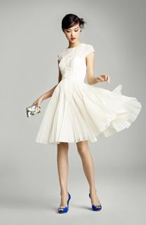 Ted Baker London Dress, Badgley Mischka Pump & Accessories
