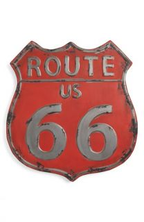 Torre & Tagus Vintage Route 66 Metal Wall Art