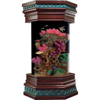 KollerCraft Ocean Treasures Collection 6 Gallon Executive Aquarium Kit Kollercraft Fish Tanks