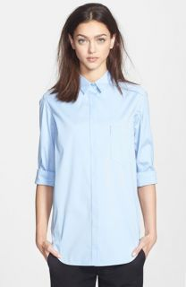 Theory Fedele Cotton Blend Shirt