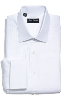 David Donahue Regular Fit Tuxedo Shirt