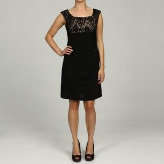 Jessica Howard Petite Laced Empire Waist Ruch Dress Jessica Howard Dresses