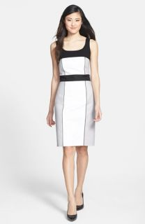 Adrianna Papell Colorblock Sheath Dress