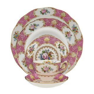 Royal Albert 'Lady Carlyle' 5 piece Place Setting Royal Albert Place Settings