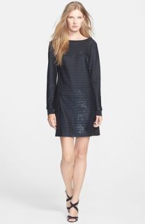 Trina Turk Arias Metallic Shift Dress