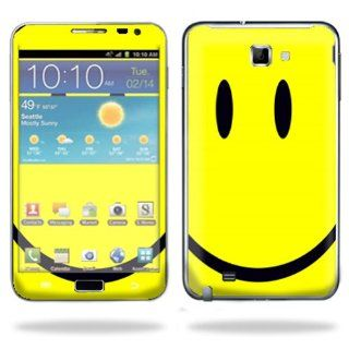 Protective Vinyl Skin Decal Cover for Samsung Galaxy Note LTE Cell Phone Sticker Skins Smiley Faces Cell Phones & Accessories