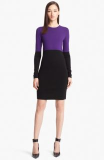 Michael Kors Colorblock Sweater Dress