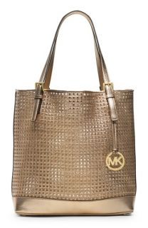 MICHAEL Michael Kors Large Metallic Leather Tote