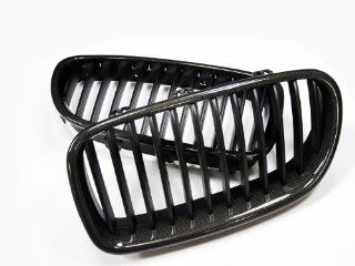 AutoTecknic Carbon Fiber Front Grille   BMW F10 5 Series Automotive