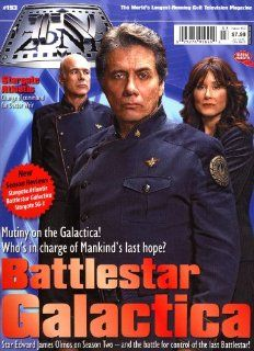 TV Zone The World's Longest running Cult Television Magazine Issue #193 Battlestar Galactica, Stargate Atlantis, and Much More